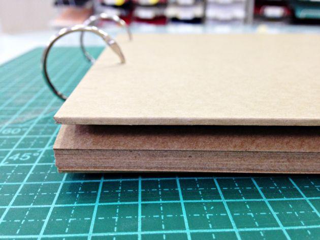 Álbum Papel de papel A4 - KRAFT