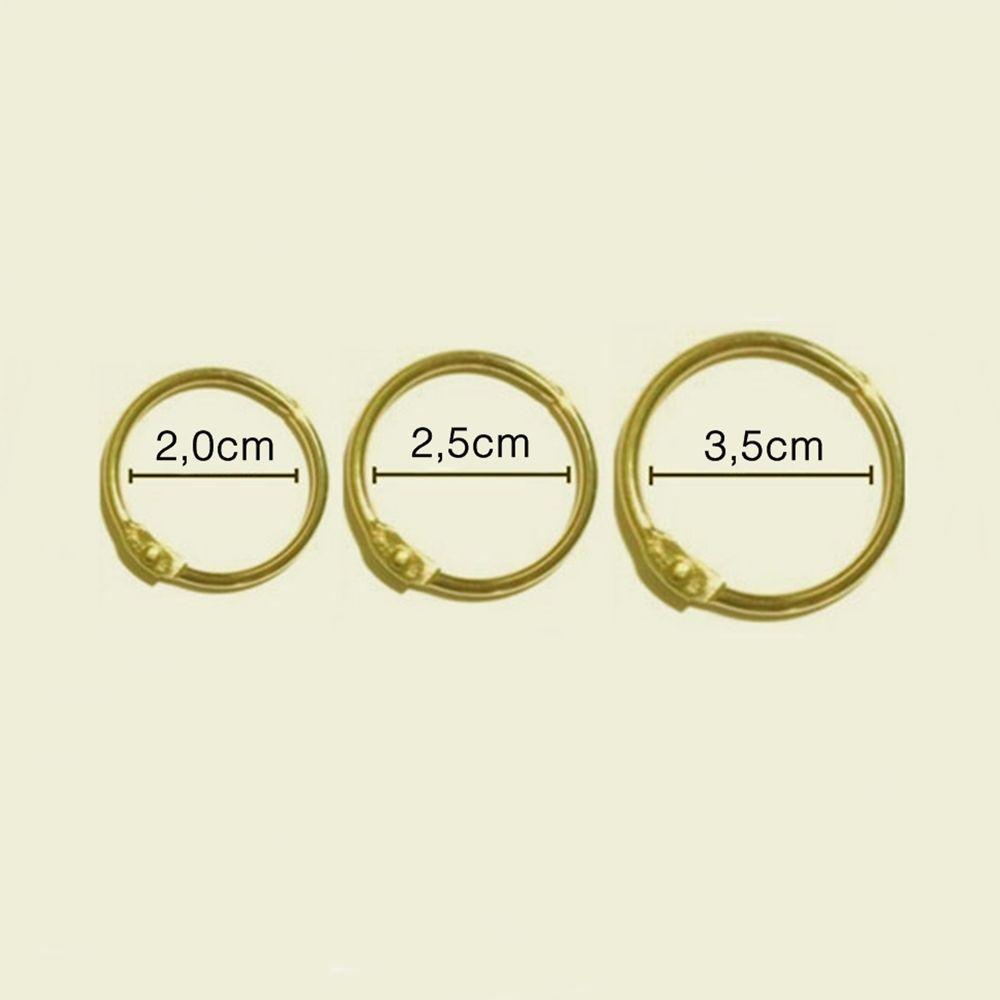Argola Articulada - Dourada