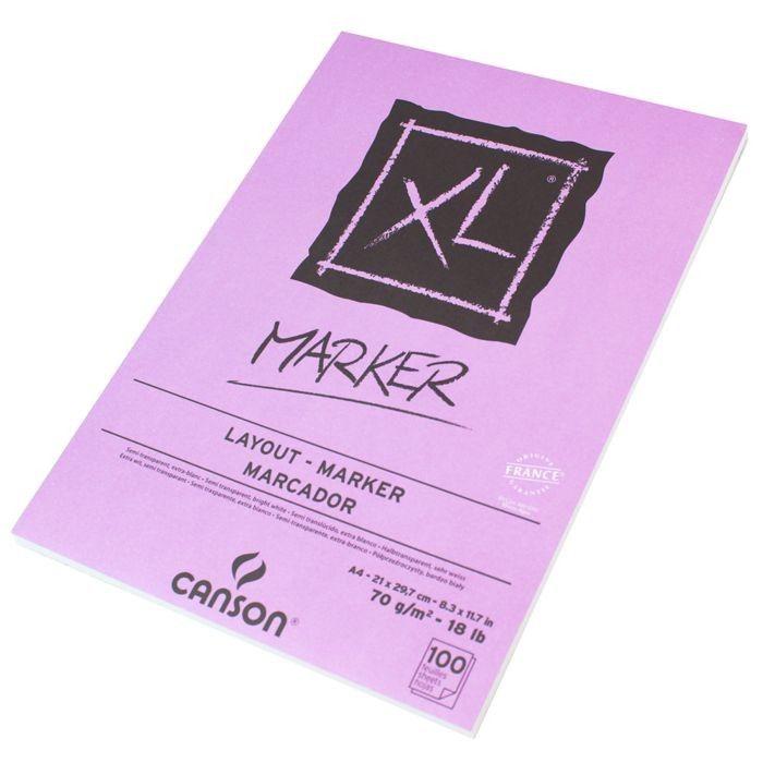 Bloco Canson XL Marker - A4