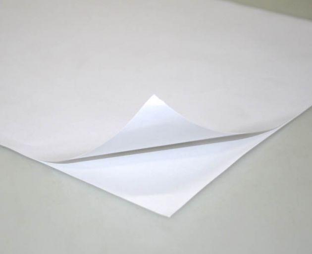 Papel Adesivo Brilho A4 190gm - 10 Folhas