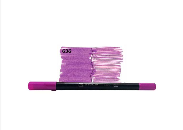 Brush Pen Dual Bismark - 636