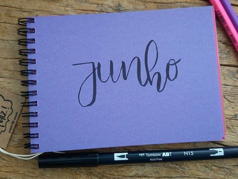 Bloquinhos Color Lettering