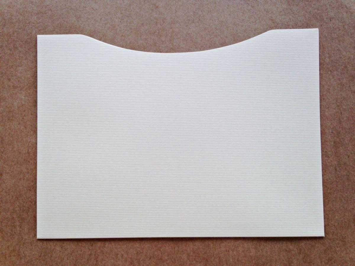 Envelope Bolso - Marfim Microcotelê