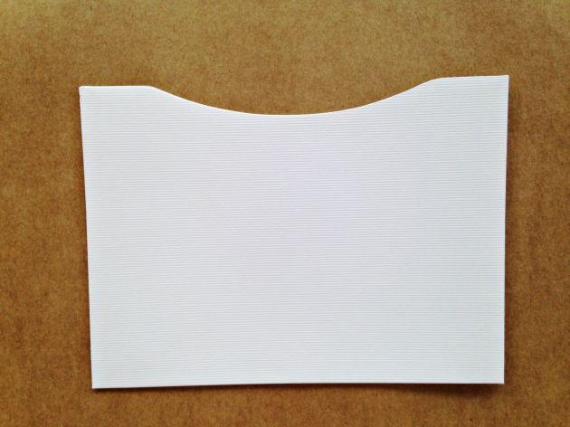 Envelope Bolso - Opalina Linear