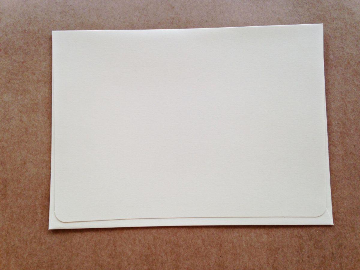 Envelope Janela - Marfim