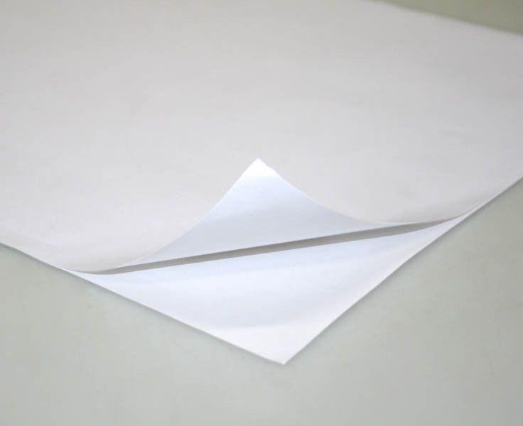 Papel Adesivo Fosco A4 190gm - 10 Folhas