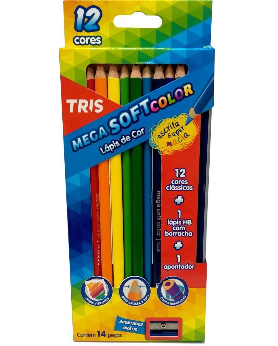 Lápis Permanente Tris - 12 Uni