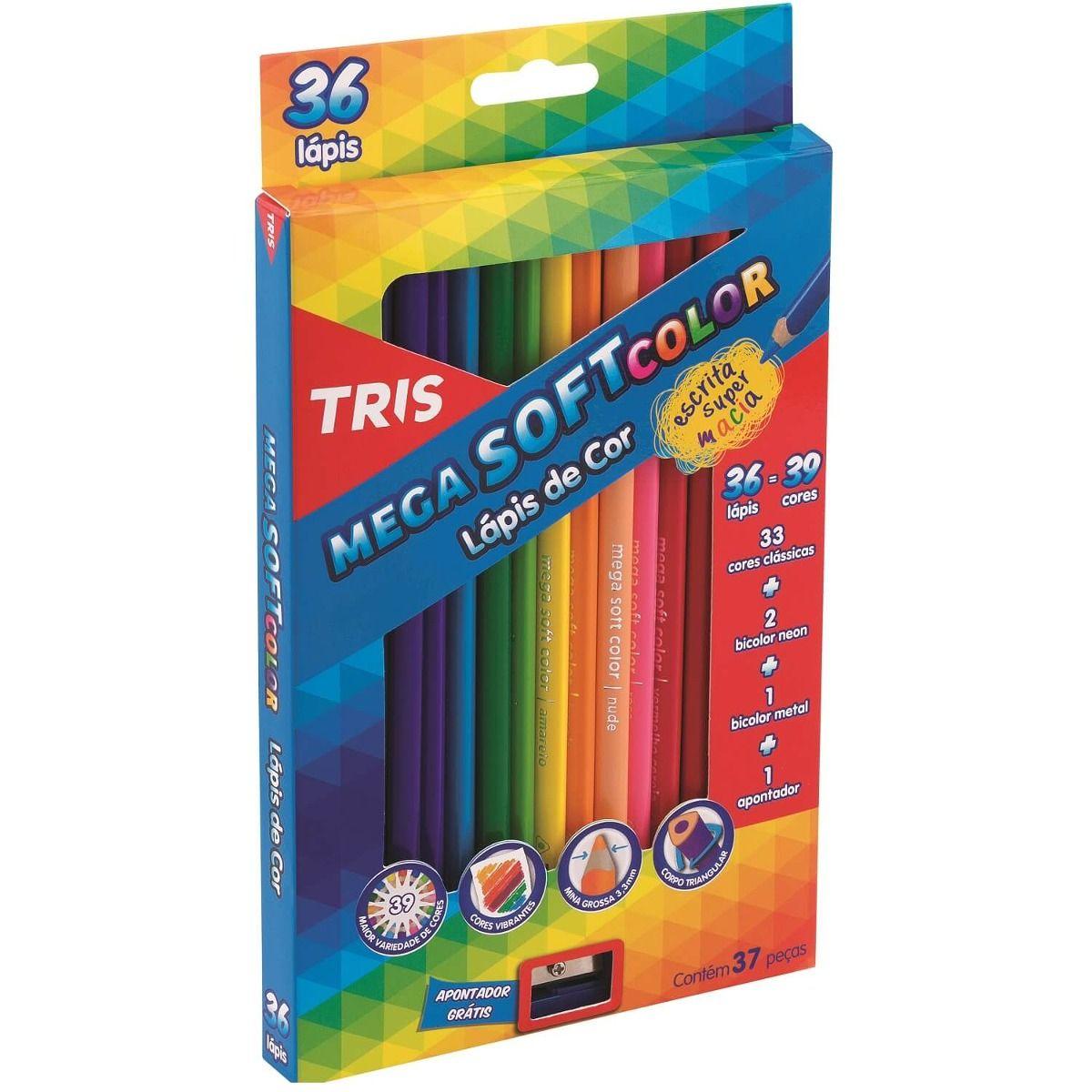 Lápis Permanente Tris - 36 Uni