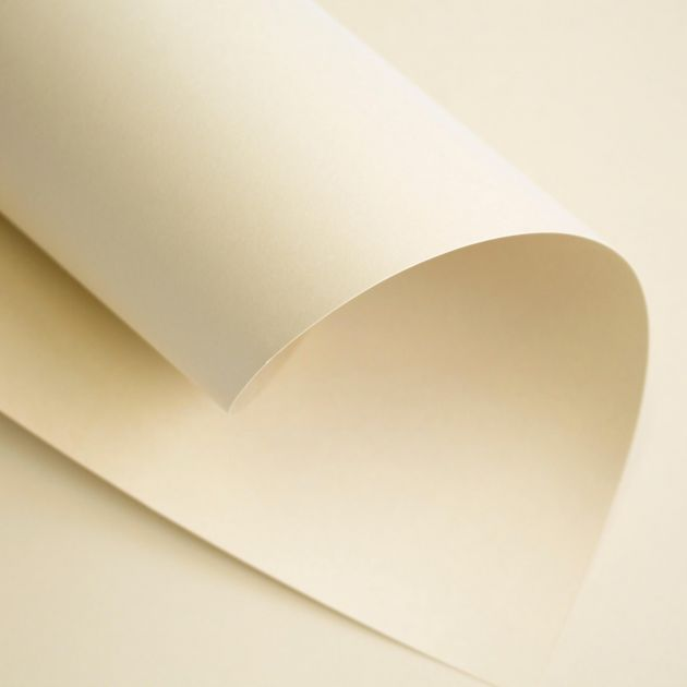 Papel Color Plus Marfim A4 120gm - 10 Folhas