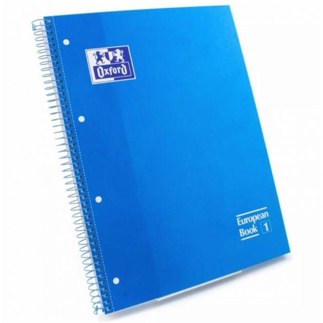 Caderno Oxford Azul Turqueza