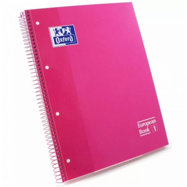Caderno Oxford Rosa