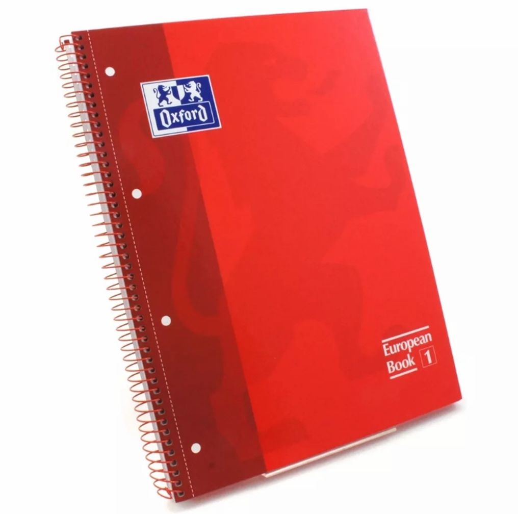 Caderno Oxford Vermelho